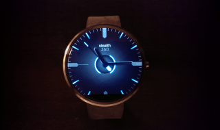 android wear with watchfaces