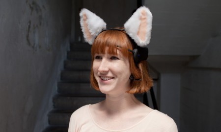 show your mood to the world with necomimi wearables