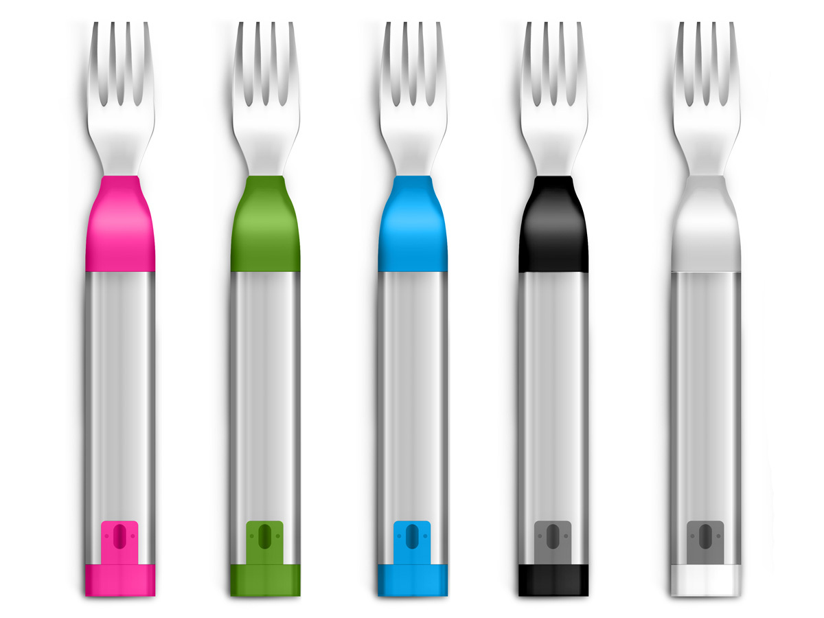 The HAPIfork is an electronic fork that helps you monitor and track your eating habits for weight loss