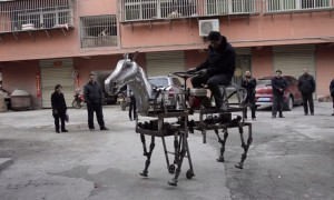robot horse invented in china