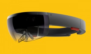 Microsoft HoloLens with Holographic Haptic Feedback Technology