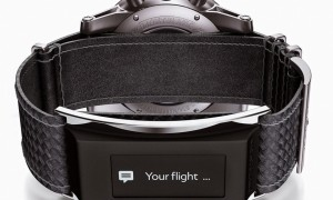 montblanc revealed timewalker, an e-strap for normal watches
