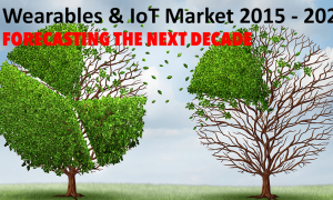 Heavy competition in wearables and IoT market for the decade to come