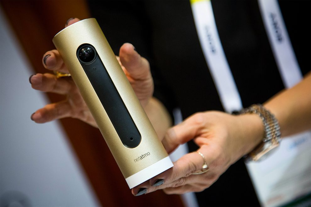 netatmo camera wants to change the idea that iot is a huge risk for our privacy - ces 2015 las vegas, wt vox