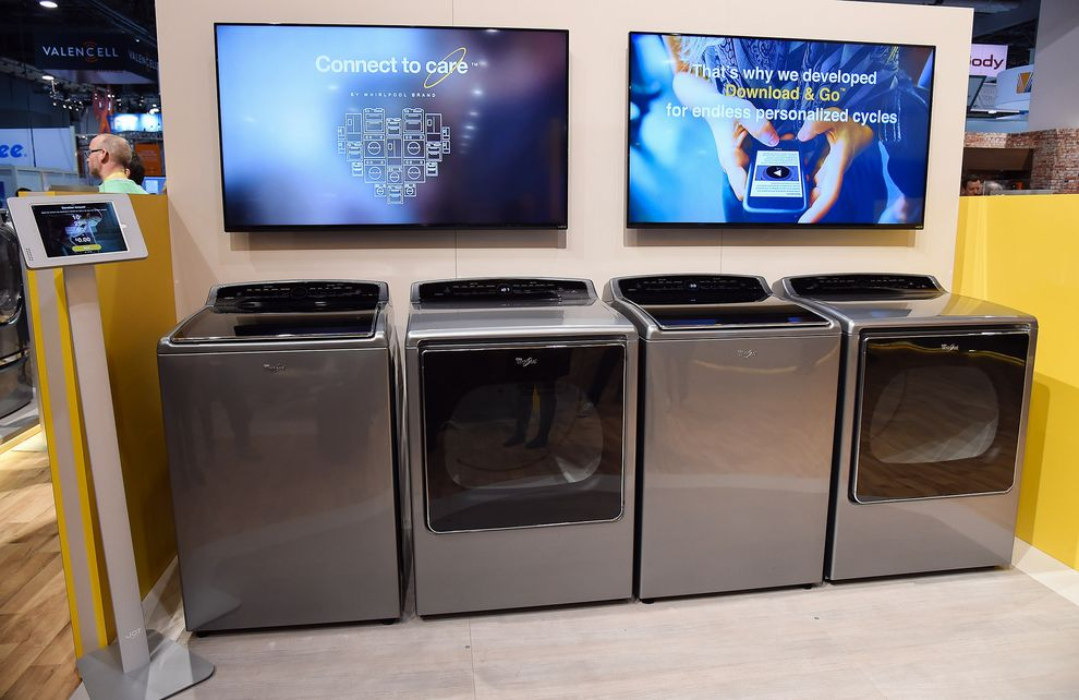 whirlpool new smart device launched at ces 2015