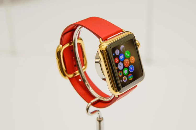 07-apple watch gold edition