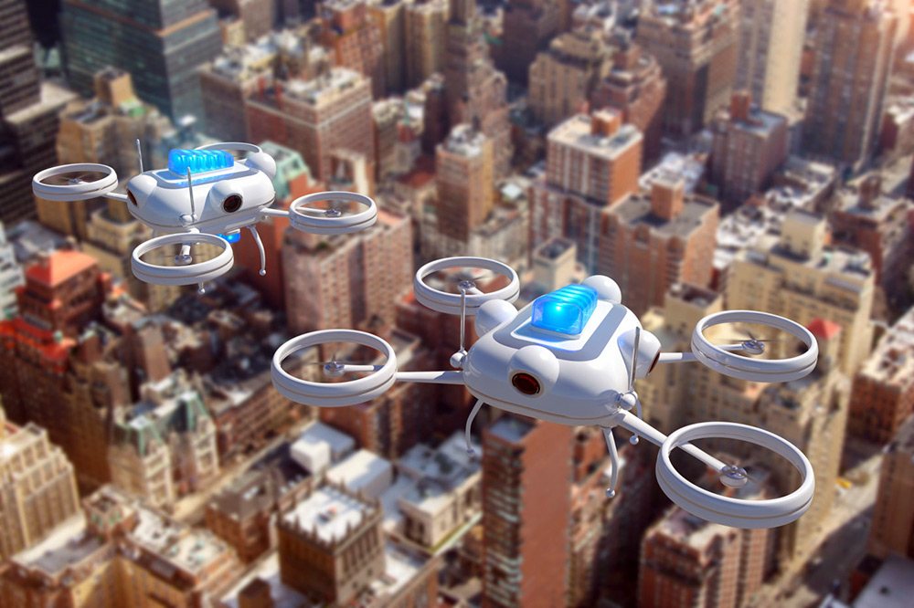 emerging tech Surveillance drones replacing police cars by 2020.