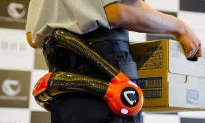 cyberdyne exoskeletons deployed in Tokyo's Airports