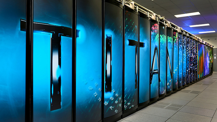 Titan, Oak Ridge National Laboratory - 20+ Petaflops 299,008 cores (Opteron) and 18,600 NVIDIA GPUs >20,000,000,000,000,000 floating point operations per second