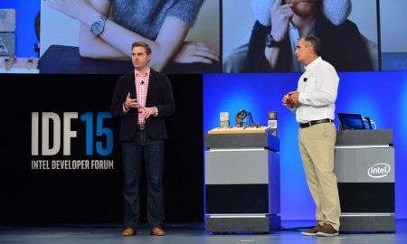 intel and fossil are revealing the first android wear watch at idf15