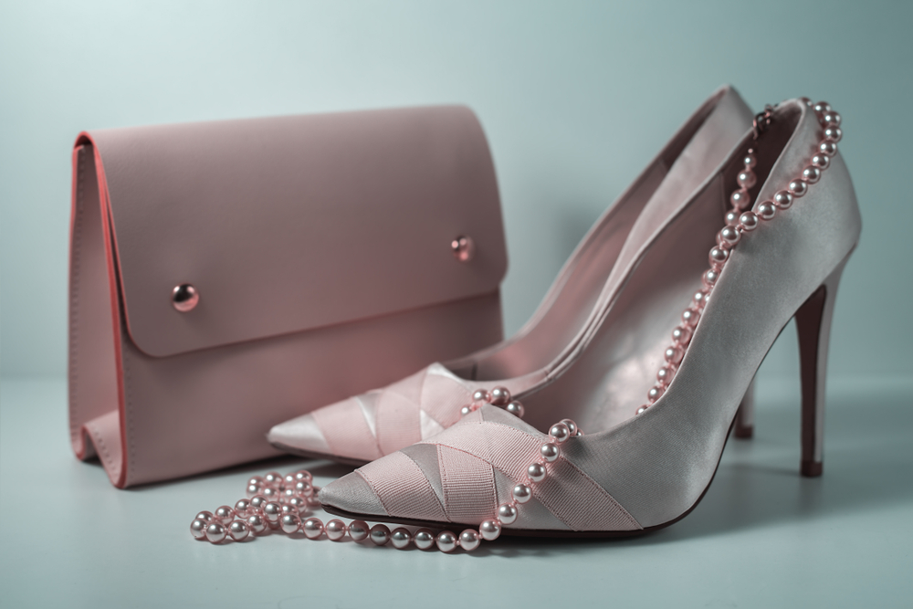 Wearable Technology Fashion - pink luxury shoes and bag