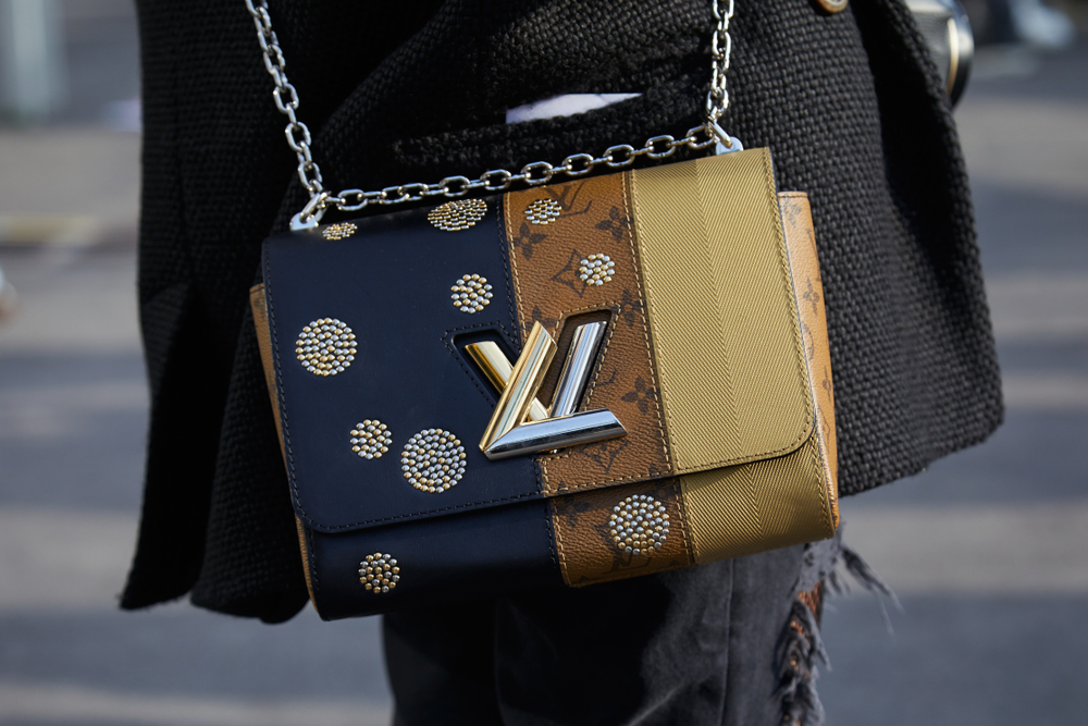 Wearable Technology Fashion - Louis Vuitton luxury handbag made from vegan leather