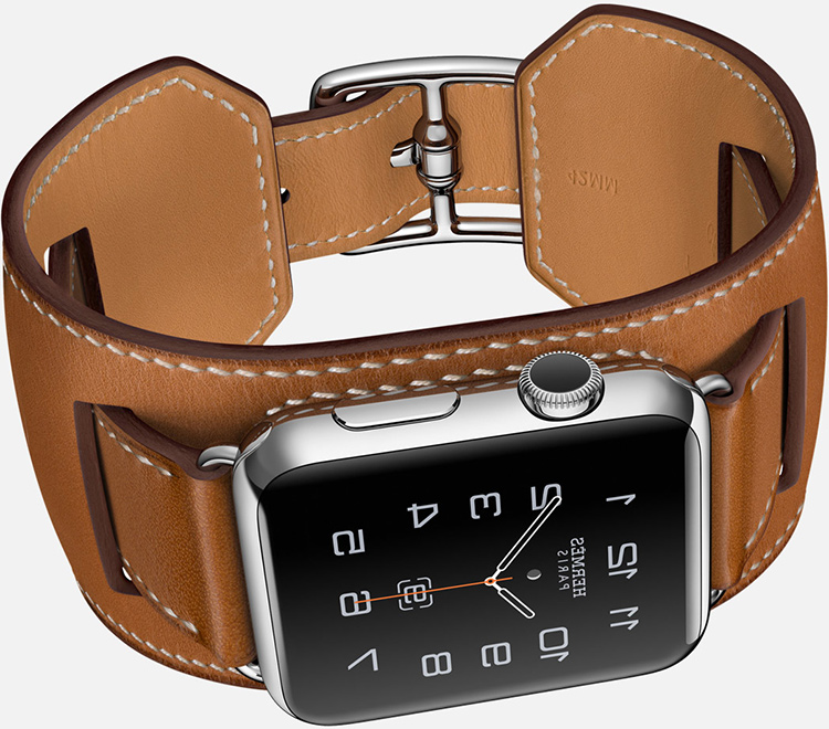 Apple-Watch-Hermes---brown-cuff