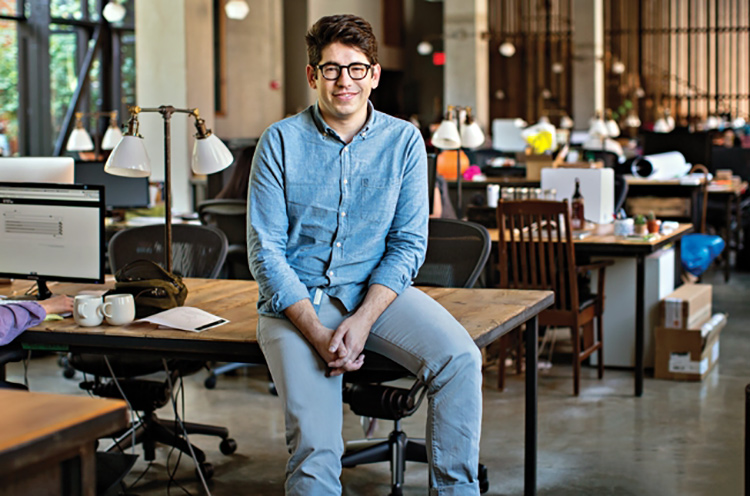 At the beginning of this year, Kickstarter's co-founder Yancey Strickler took the reins from his co-founder Perry Chen
