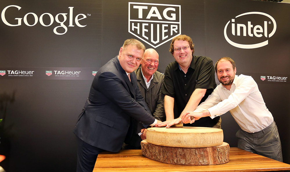 tag heuer connected in partnership with intel and google