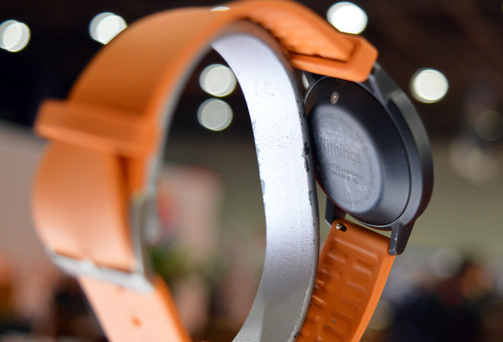 Withings activite pop smartwatch - view from the back