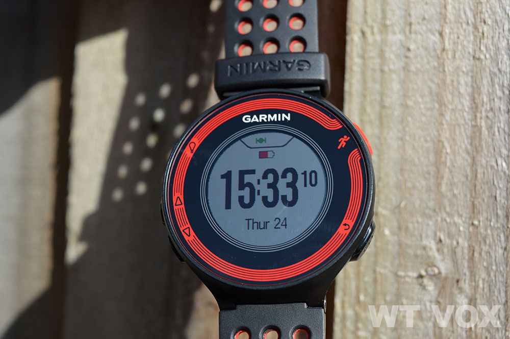 Garmin Forerunner 220 Review - Design And Specs front