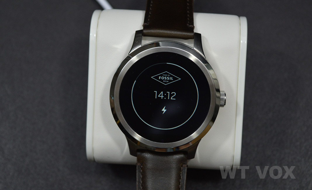 Best Android Wear Watch - Fossil Q Founder charger