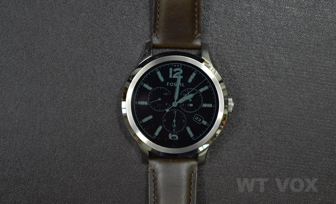 Fossil Q Founder Review Front