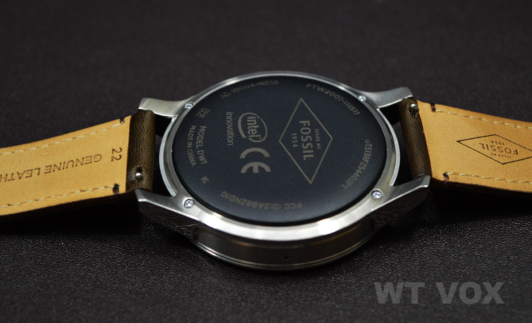 Fossil Q Founder Review - Design And Specs back