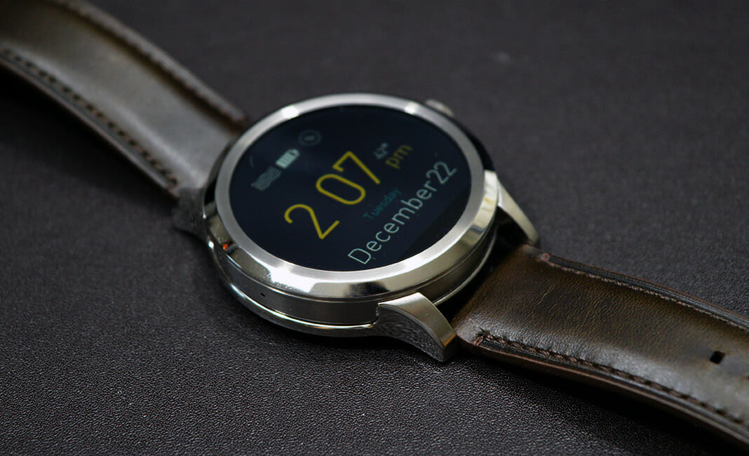 Best Android Wear Watch - Fossil Q Founder display