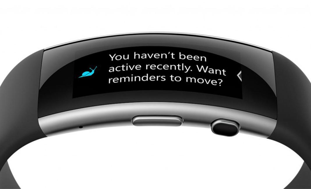 microsoft band 2 activity reminder wt vox