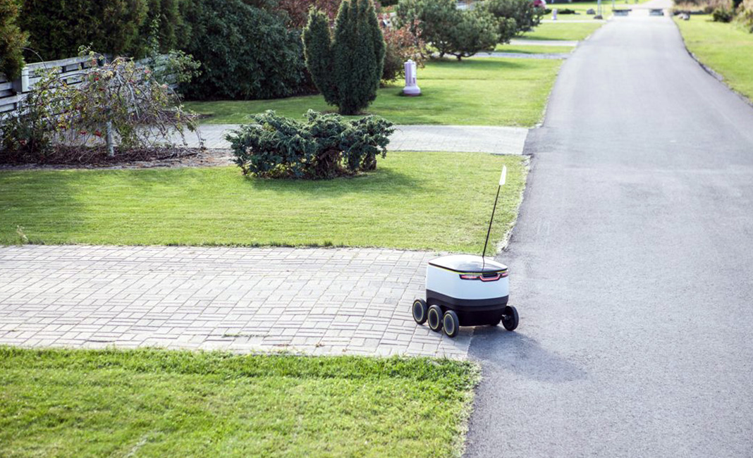 The First Delivery Robot Has Been Well-received By The Locals