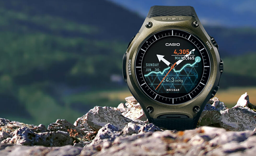 casio smartwatch android wear