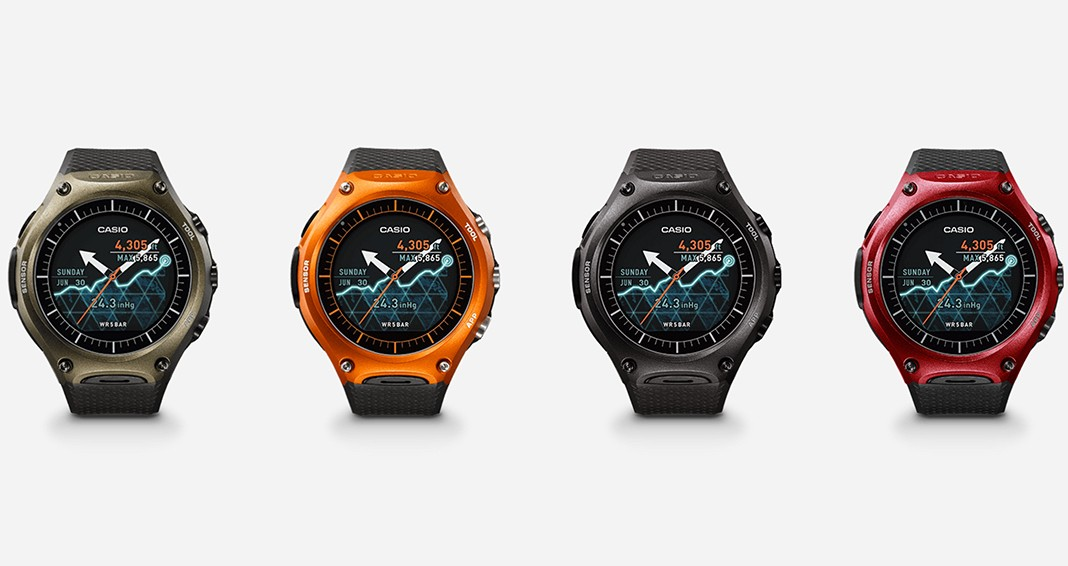 casio smartwatch all models and colours