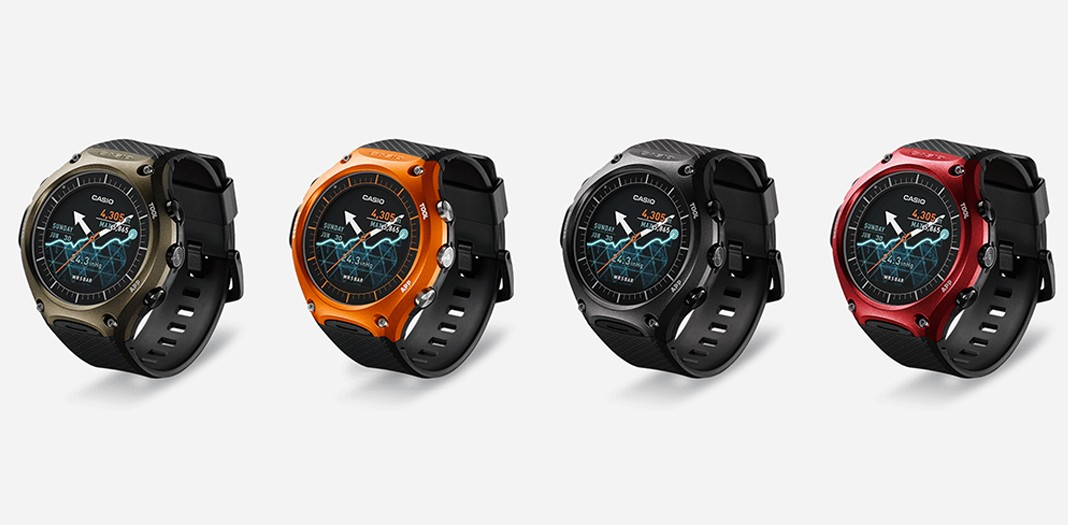 CASIO Smartwatch design and features
