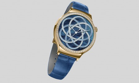 Huawei Watch Jewel with Blue Strap