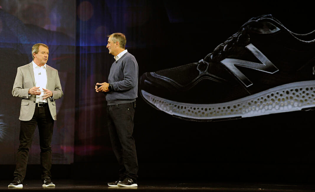 new balance smartwatch is a partnership with Intel