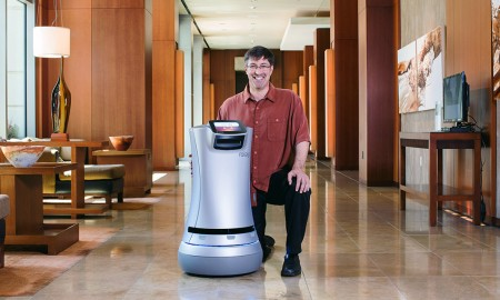 Meet Relay - The Robot Room Service Is Here