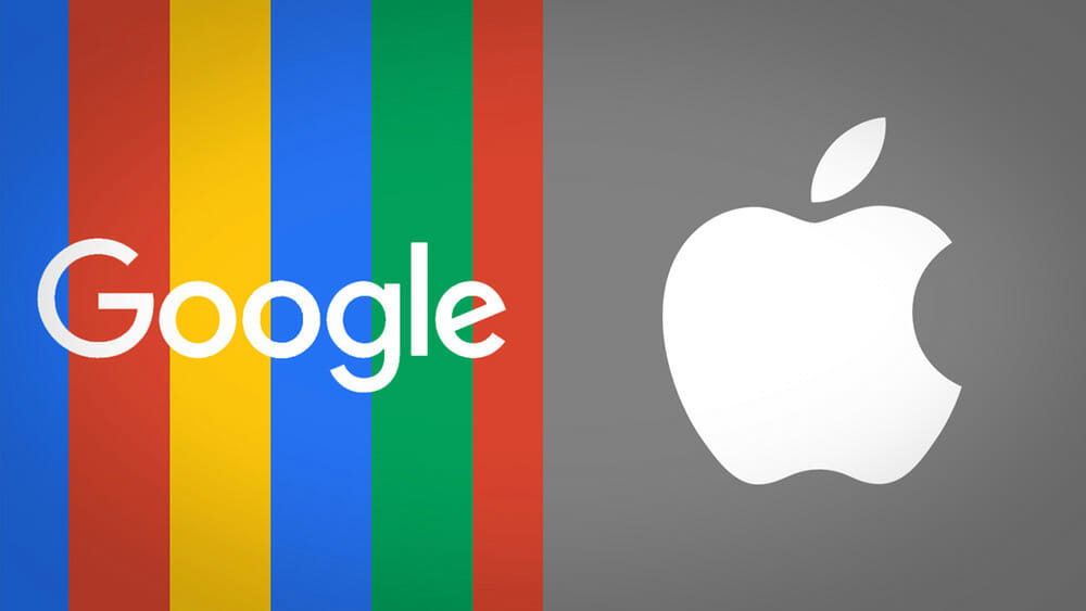 Image result for apple vs google