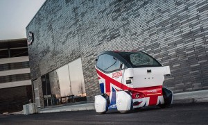 driverless car london