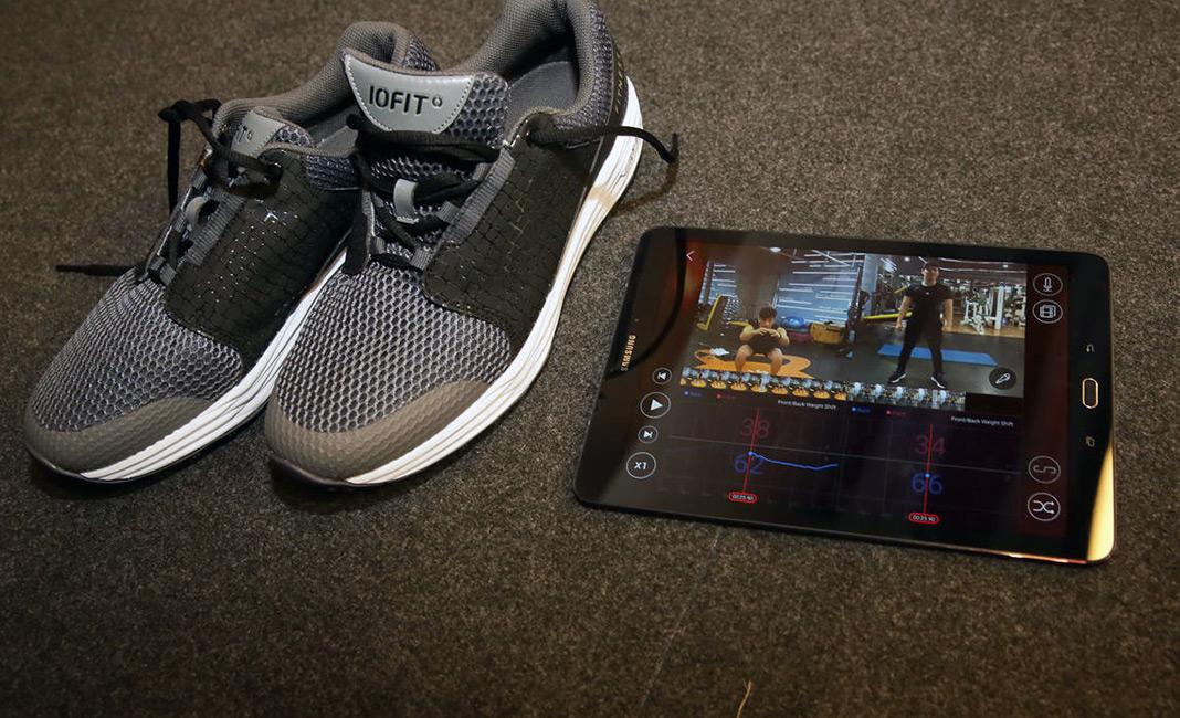 iofit smart balance shoes