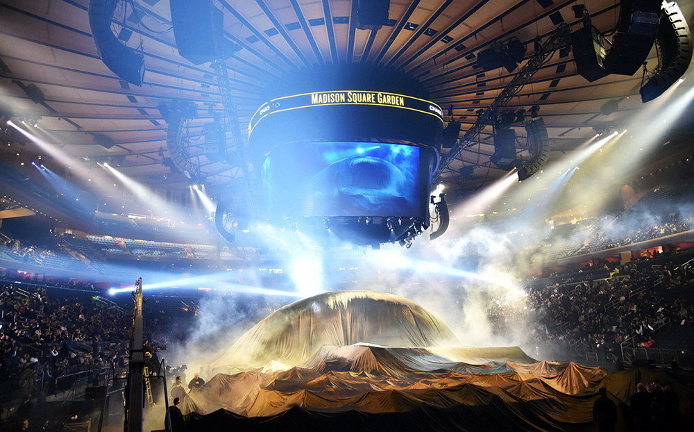 the catwalks of the future started with kanye west first fashion and music show at madison square garden in new york