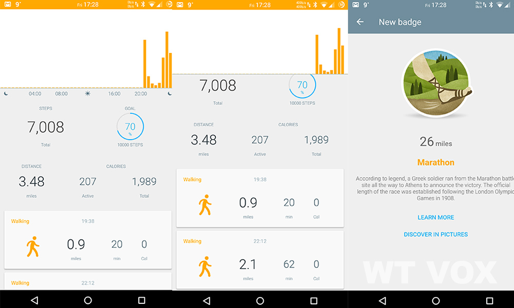 Withings Activite Steel Review - app 2