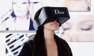 the catwalks of the future - dior virtual reality headset