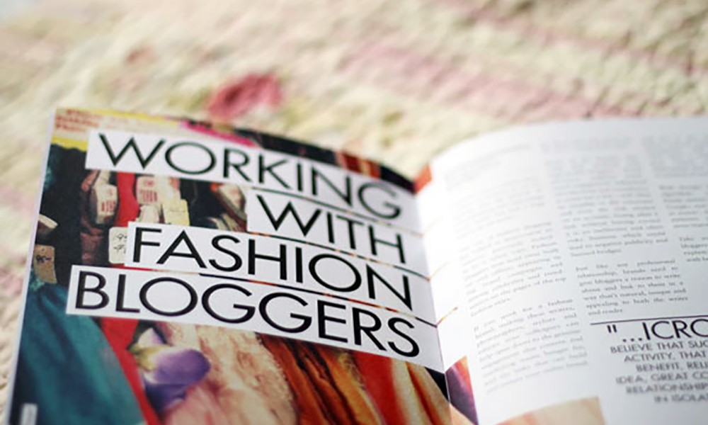 the important job of being a blogger for a fashion company The fashion and luxury being a good listener and having a customer service awareness is the most important be interested in your company's commercial.
