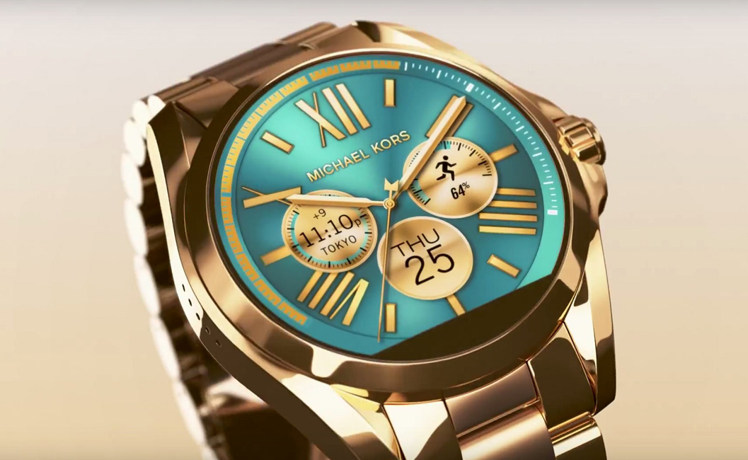 Michael Kors Smartwatch Brings Fashion To Technology