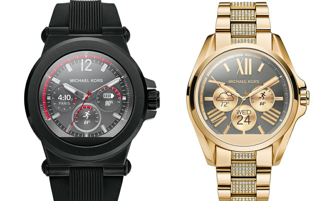 michael kors smartwatch brings fashion to technology. Black Bedroom Furniture Sets. Home Design Ideas