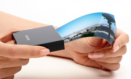 flexible screens from Samsung