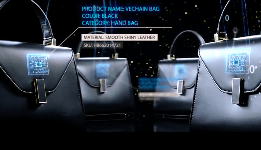Blockchaining Fashion Industry Vechain can append information to any physical object once 'digitised' on their blockchain platform.