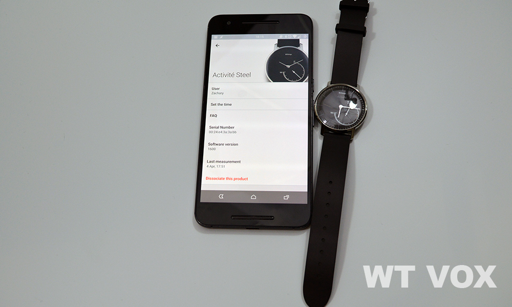 Withings Activite Steel Review - features 2