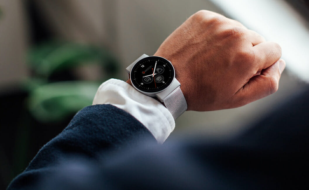 CoWatch Smartwatch Puts Amazon's Alexa On Your Wrist