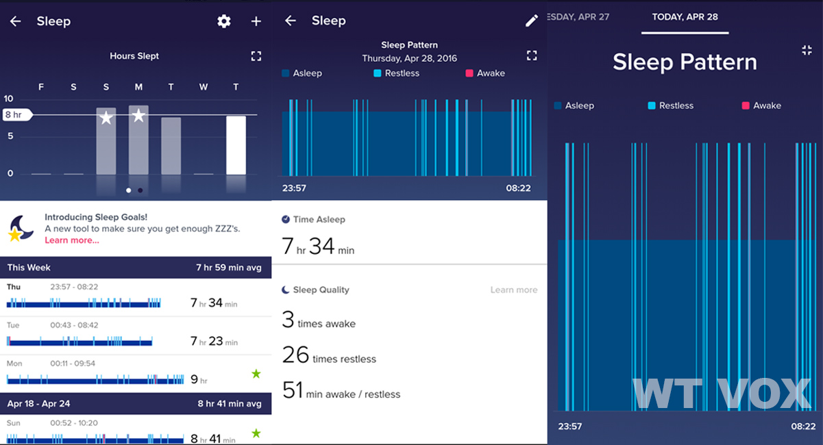 Fitbit Alta Review - Sleep Tracking