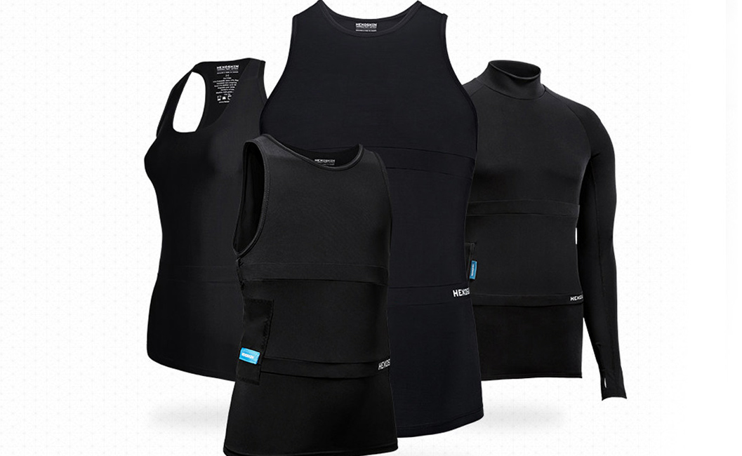 Top Smart Clothing - The Hexoskin