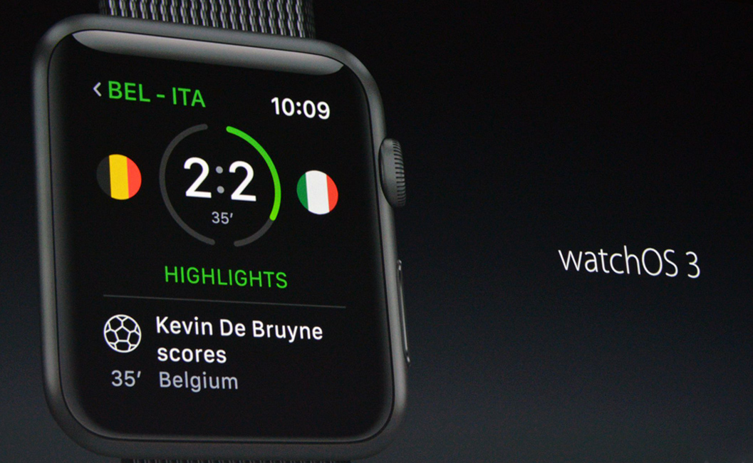 Apple watchOS 3 - Seven Times Faster Than watchOS 2