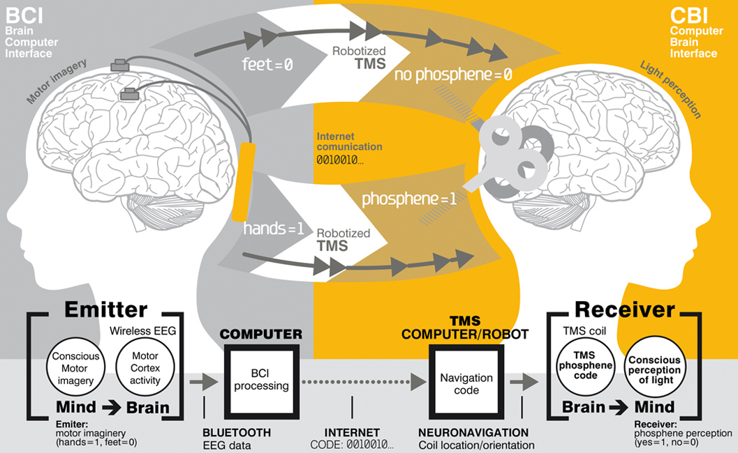 Brain Communication simple diagram